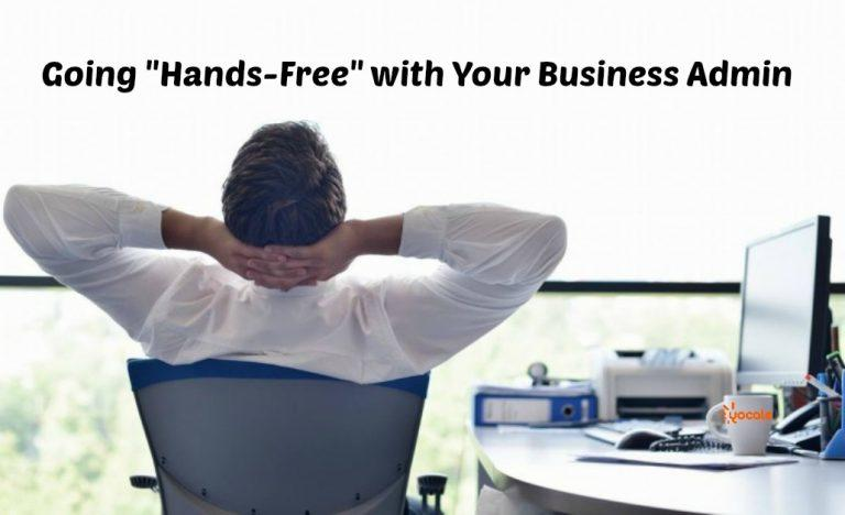 Go HandsFree with your Business Admin