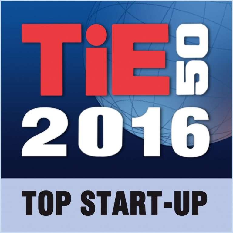 TiE50 Top Startup Winner