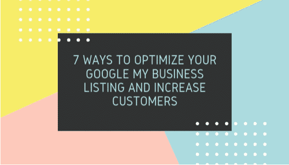 Optimize Google Business Listing